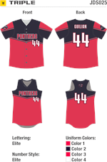 Triple Sublimated Fastpitch Uniform Alleson Athletic